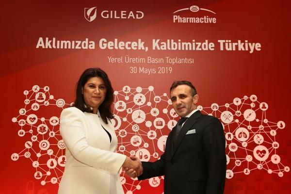 Pharmactive ile Gilead Sciences
